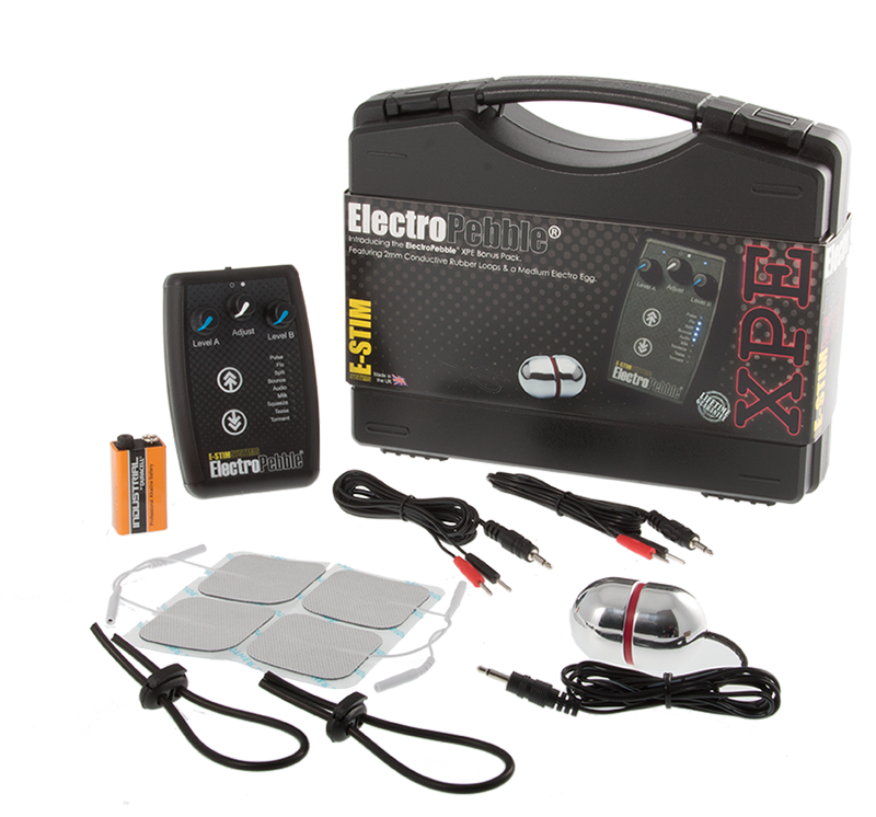 E-Stim systems ElectroPebble® XPE pack