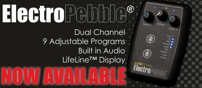 NEW E-Stim systems ElectroPebble now available!