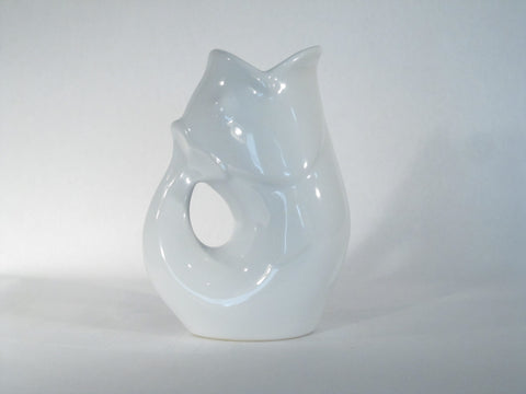 GurglePot™ Large White Pitcher