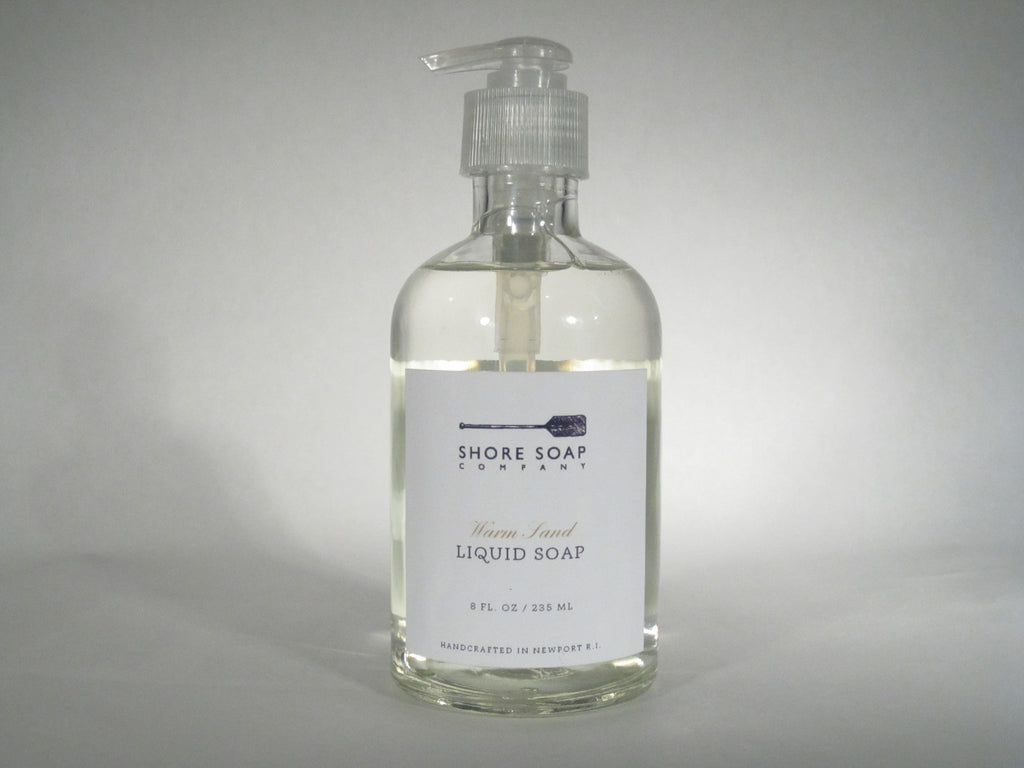 Shore Soap Warm Sand Liquid Soap