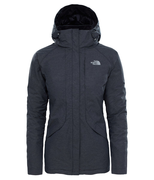 WOMEN'S INLUX INSULATED JACKET - TNF BLACK HEATHER