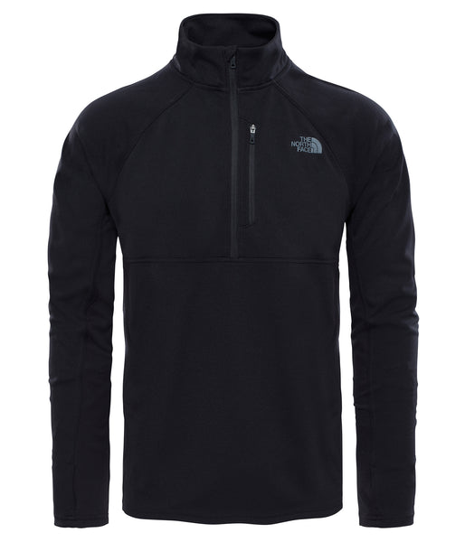 MEN'S AMBITION 1/4 ZIP - BLACK/BLACK