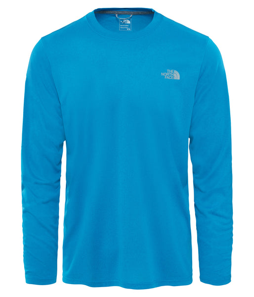 MEN'S REAXION AMP L/S CREW - BRILLIANT BLUE