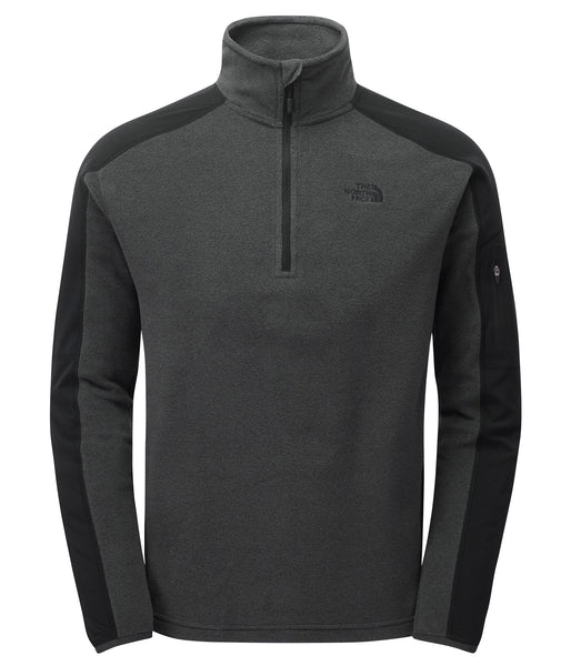 MEN'S GLACIER DELTA 1/4 ZIP FLEECE - DARK GREY HEATHER