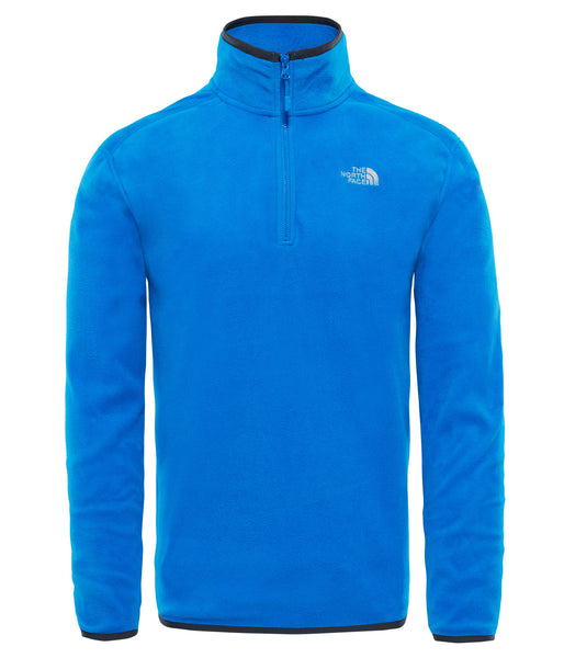 MEN'S 100 GLACIER 1/4 ZIP FLEECE - BOMBER BLUE