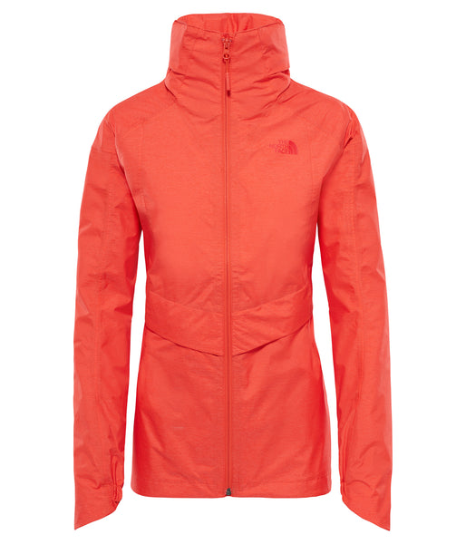WOMEN'S INLUX DRYVENT JACKET - FIRE BRICK RED