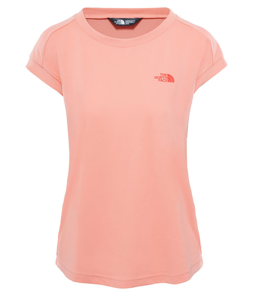 WOMEN'S HIKESTELLAR SHORT SLEEVE TOP - DESERT FLOWER ORANGE
