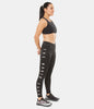 WOMEN'S 24/7 GRAPHIC MID RISE TIGHT - BLACK