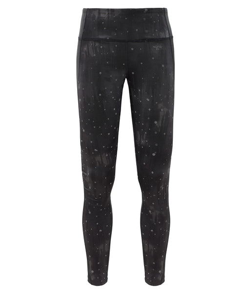 WOMEN'S 24/7 PRINTED TIGHT - BLACK FIREFLY PRINT