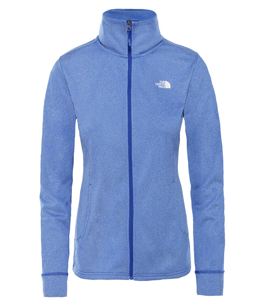 WOMEN'S QUEST FULL ZIP MIDLAYER - LAPIS BLUE WHITE