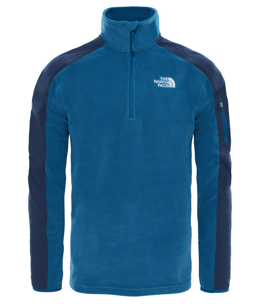 MEN'S GLACIER DELTA 1/4 ZIP FLEECE - MONTEREY BLUE