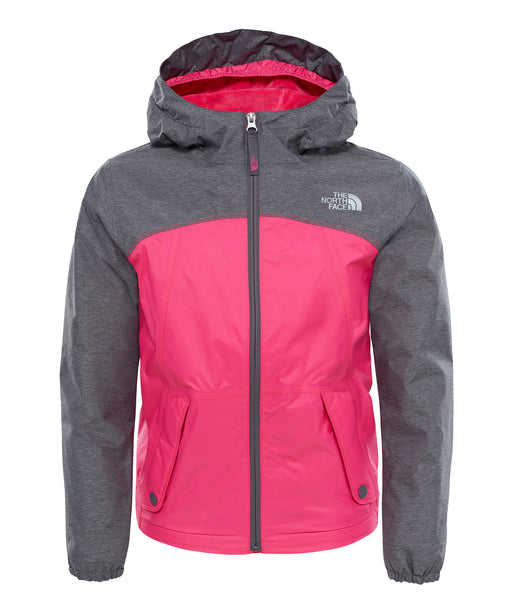 GIRL'S WARM STORM JACKET (AGES 6-8) - PETTICOAT PINK