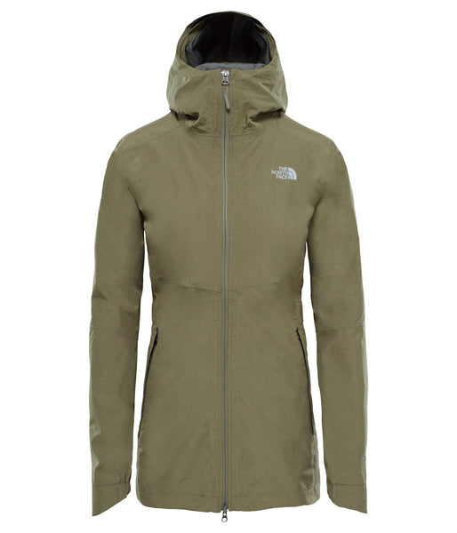 WOMEN'S HIKESTELLAR PARKA SHELL JACKET - DEEP LICHEN GREEN HEATHER