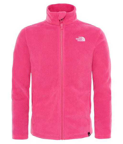 YOUTH SNOW QUEST FULLZIP FLEECE (AGES 6-8)- PETTICOAT PINK