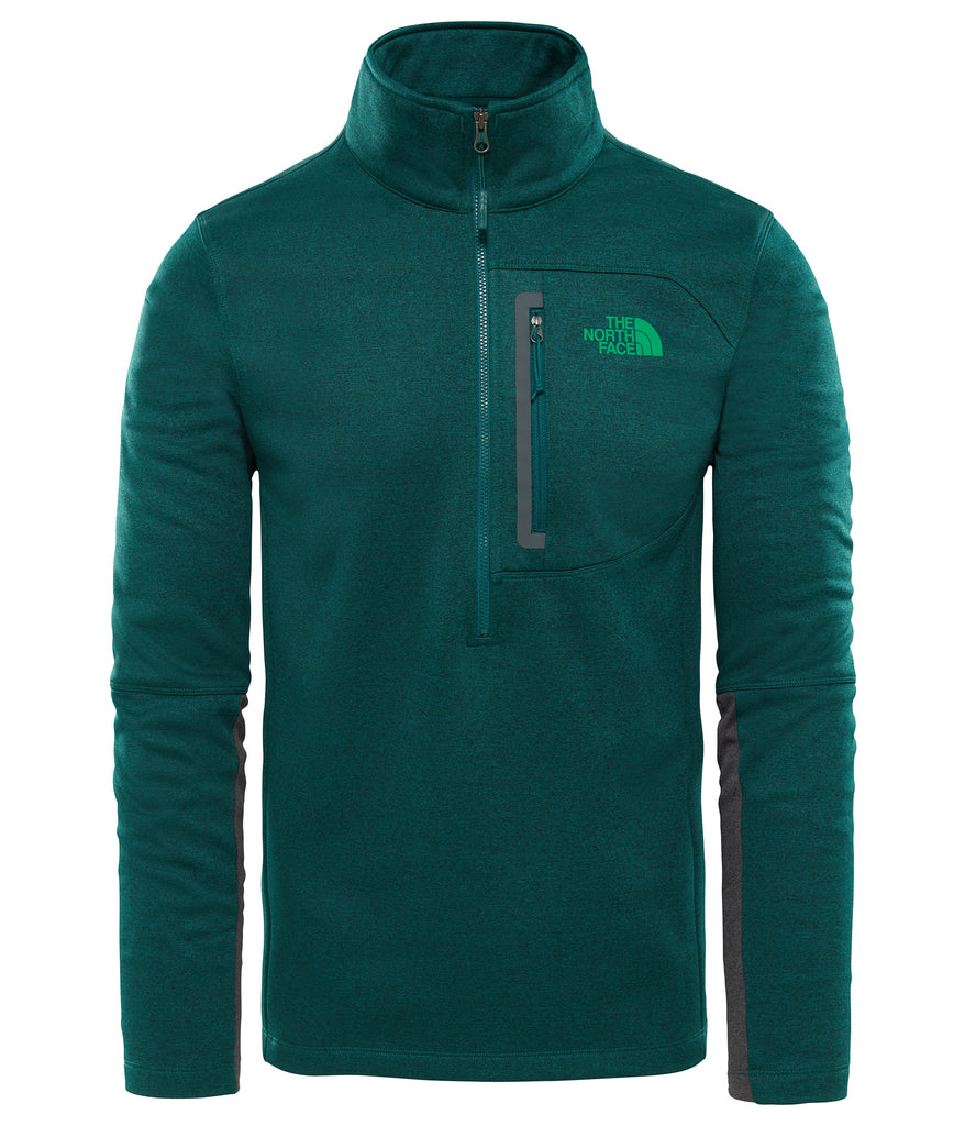 MEN'S CANYONLANDS 1/2 ZIP FLEECE - BOTANICAL GARDEN GREEN