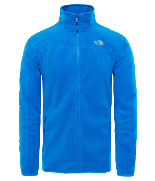 MEN'S 100 GLACIER FULL ZIP FLEECE - BOMBER BLUE