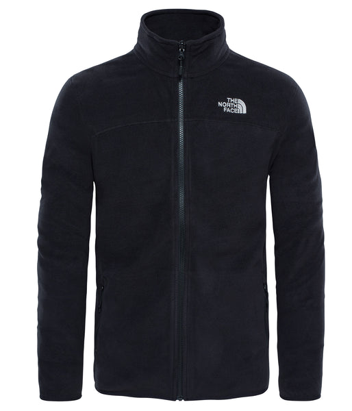 MEN'S 100 GLACIER FULL ZIP FLEECE - TNF BLACK