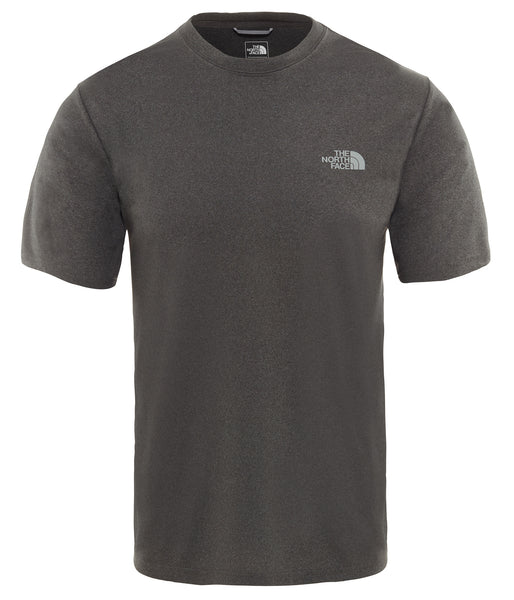 MEN'S REAXION AMP CREW -EU DARK GREY HEATHER