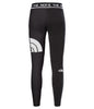 WOMEN'S FLEX MID RISE LEGGINGS - BLACK/WHITE