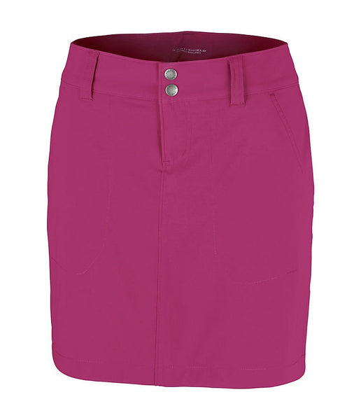 WOMEN'S SATURDAY TRAIL SKORT - WINE BERRY