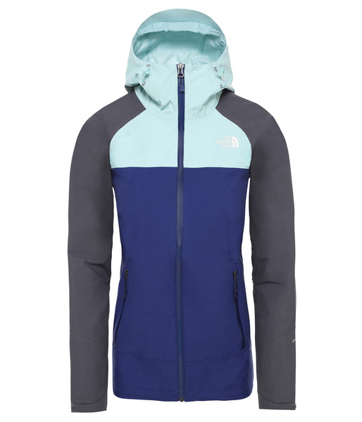 WOMEN'S STRATOS JACKET - FLAG BLUE/VANADIS GREY