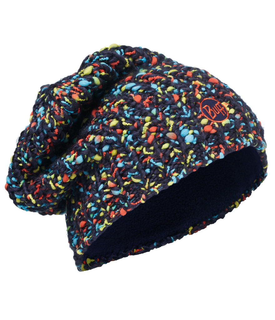 KNITTED & POLAR HAT BUFF YSSIK DARK NAVY
