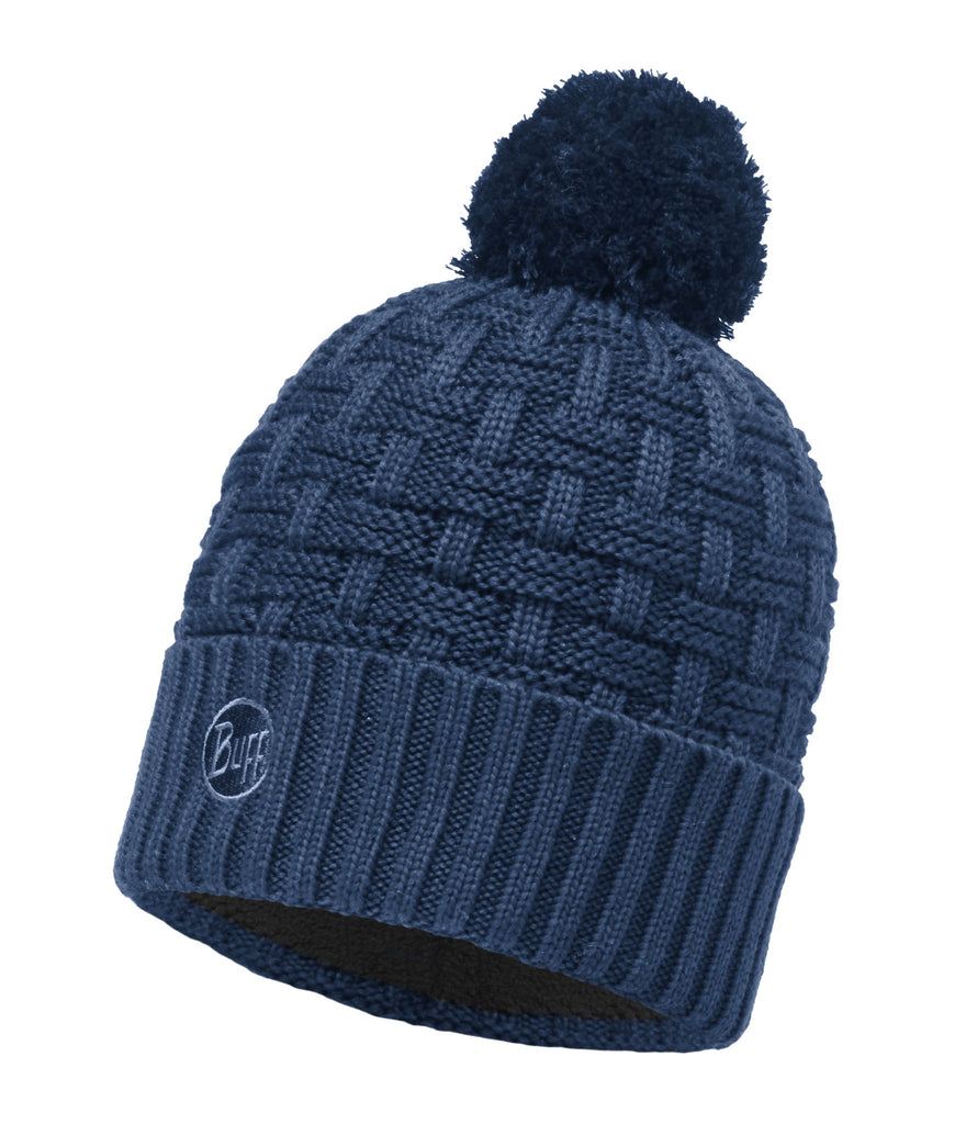 KNITTED & POLAR HAT BUFF AIRON BLUE