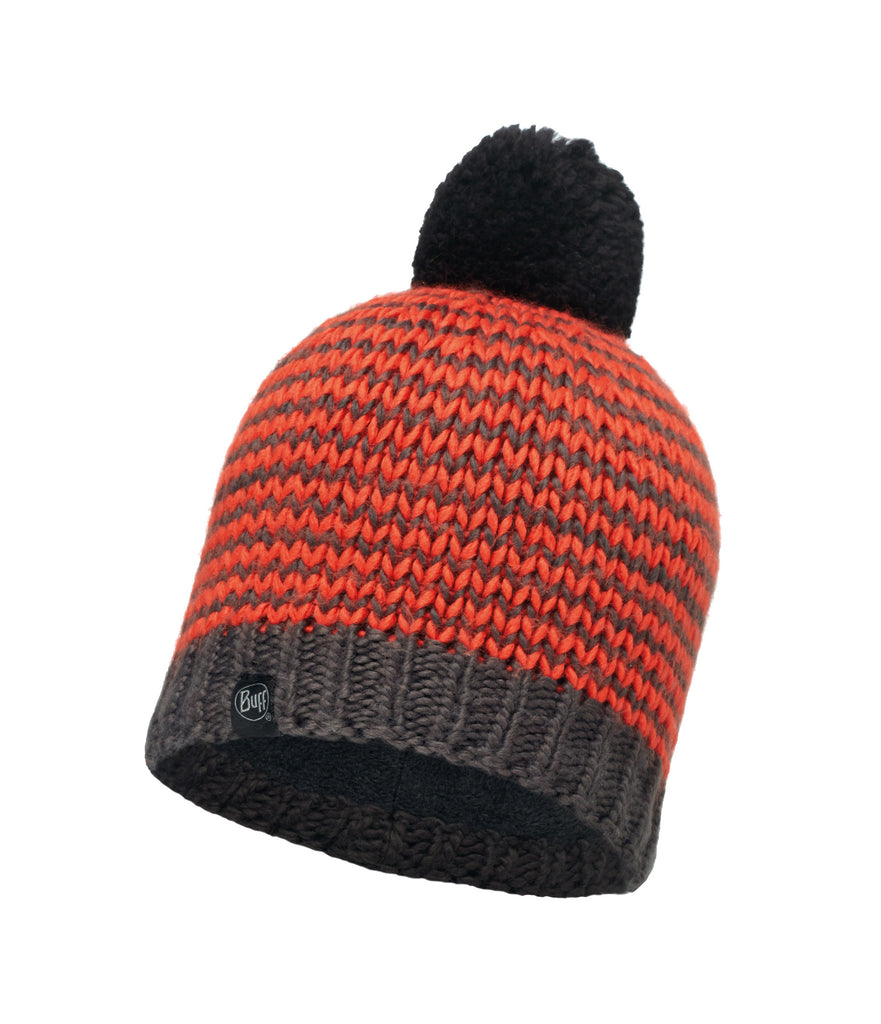 KNITTED & POLAR HAT DORN - FLAME