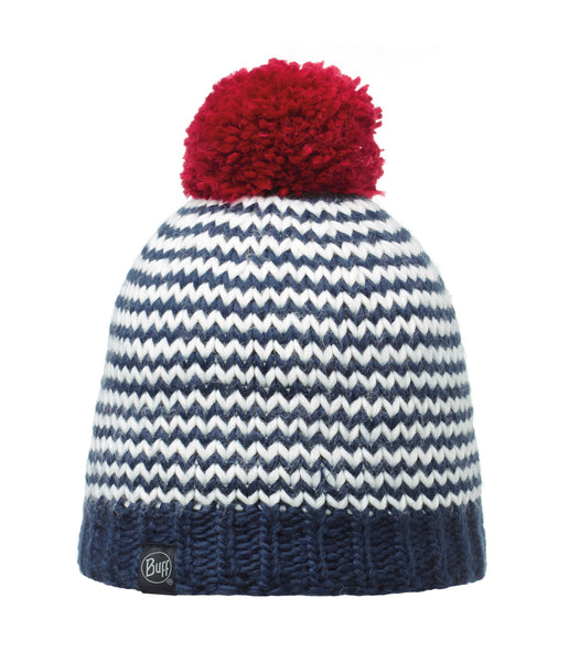 KNITTED & POLAR HAT DORN - NAVY