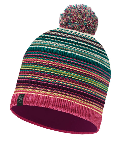KNITTED & POLAR HAT NEPER MAGENTA