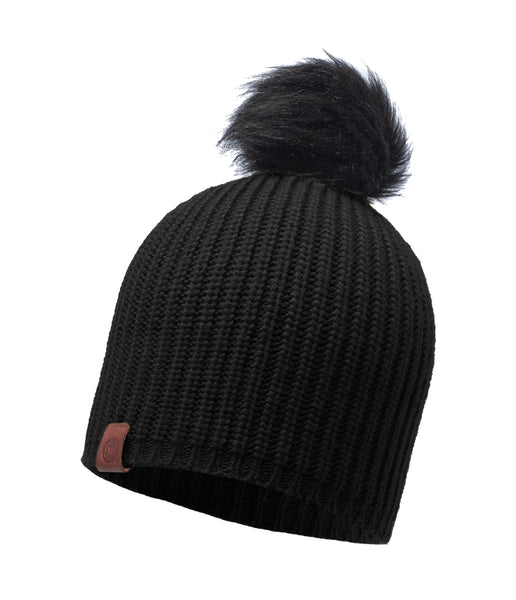 ADALWOLF KNITTED HAT - BLACK