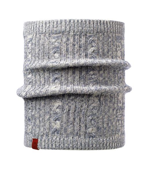BRAIDY GREY NECKWARMER