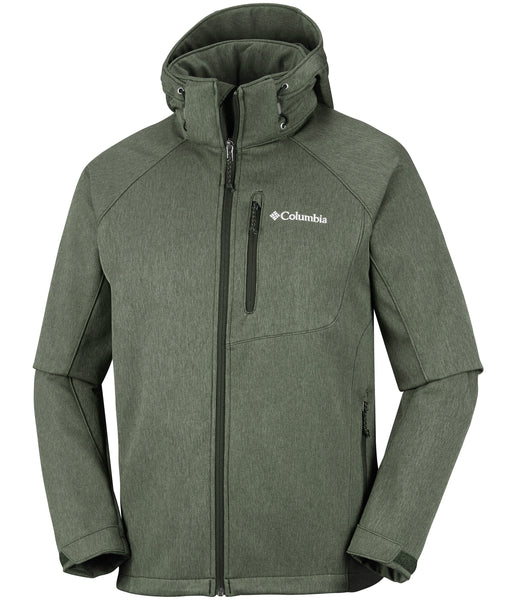 MEN'S CASCADE RIDGE II SOFTSHELL - PEATMOSS HEATHER
