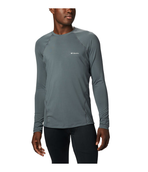 MEN'S MIDWEIGHT STRETCH LONG SLEEVE TOP - GRAPHITE