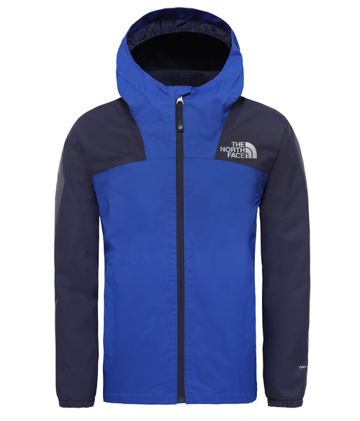 BOY'S WARM STORM JACKET (AGES 6-10) - TNF BLUE