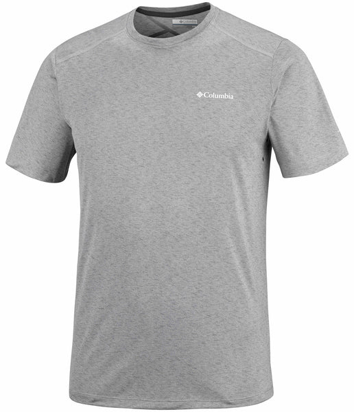TRIPLE CANYON TECH TEE - COLUMBIA GREY HEATHER