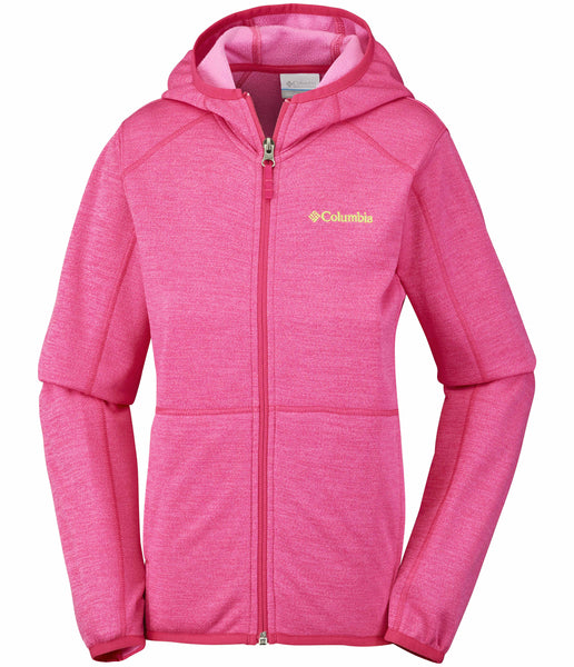 KID'S S'MORE ADVENTURE FULL ZIP HOODIE - PUNCH PINK (AGES 7-8YRS)