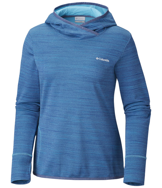 WOMEN'S CRATER LAKE HOODIE - BLUEBELL