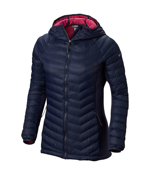 WOMEN'S POWDER PASS HOODED JACKET - NOCTURNAL