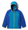 GIRL'S POWDER LITE HOODED JACKET 2.0 (AGES 4-10)