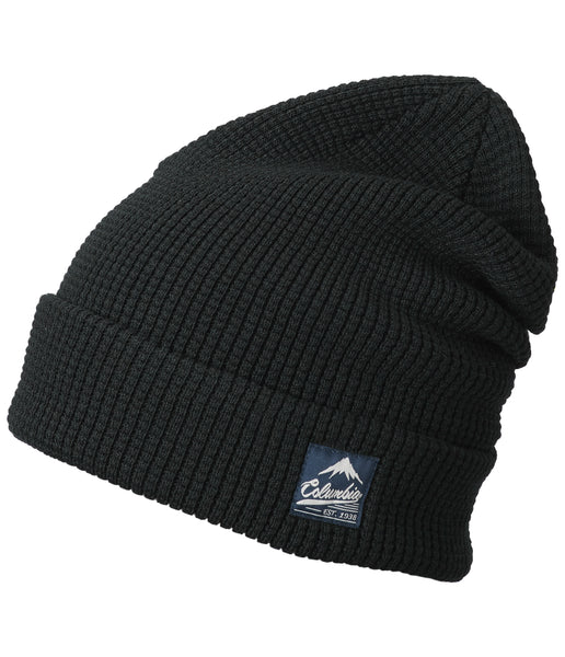LOST LAGER WAFFLE BEANIE - BLACK