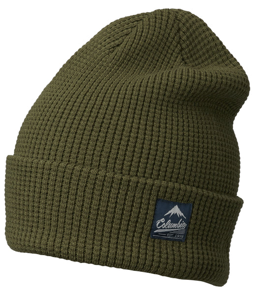 LOST LAGER WAFFLE BEANIE - PEATMOSS