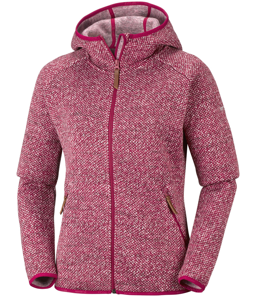 WOMEN'S CHILLIN FLEECE - POMEGRANATE