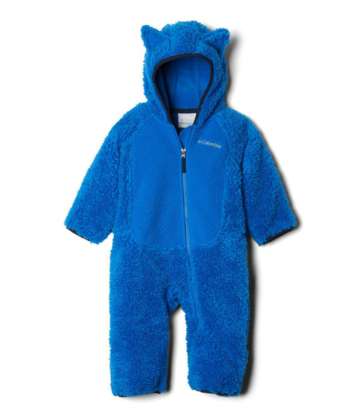 FOXY BABY SHERPA BUNTING - SUPER BLUE