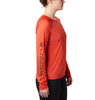 WOMEN'S TRINITY TRAIL II LONG SLEEVE TOP - RED SPARK