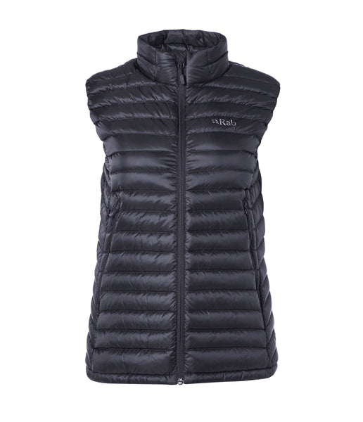WOMEN'S MICROLIGHT VEST - STEEL/PASSATA