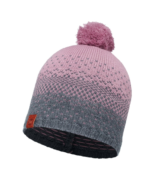 MERINO WOOL HAT - MAWI LILAC SHADOW