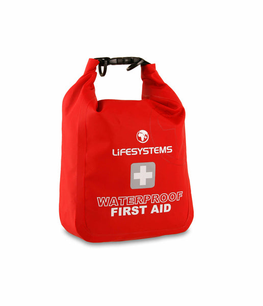 WATERPROOF FIRST AID KIT - 31 ITEMS