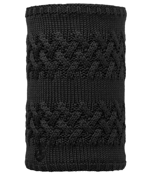 SAVVA BLACK [NECKWARMER KNITTED]