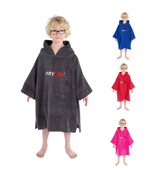 ORGANIC COTTON TOWEL DRYROBE - KID'S AGE 5-9